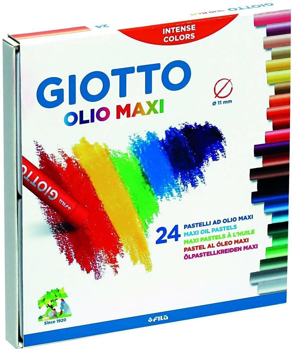 giotto giotto pastelli ad olio maxi c.f. 24