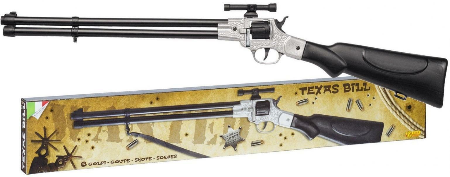villa giocattoli villa giocattoli fucile texas bill 8 colpi 125db