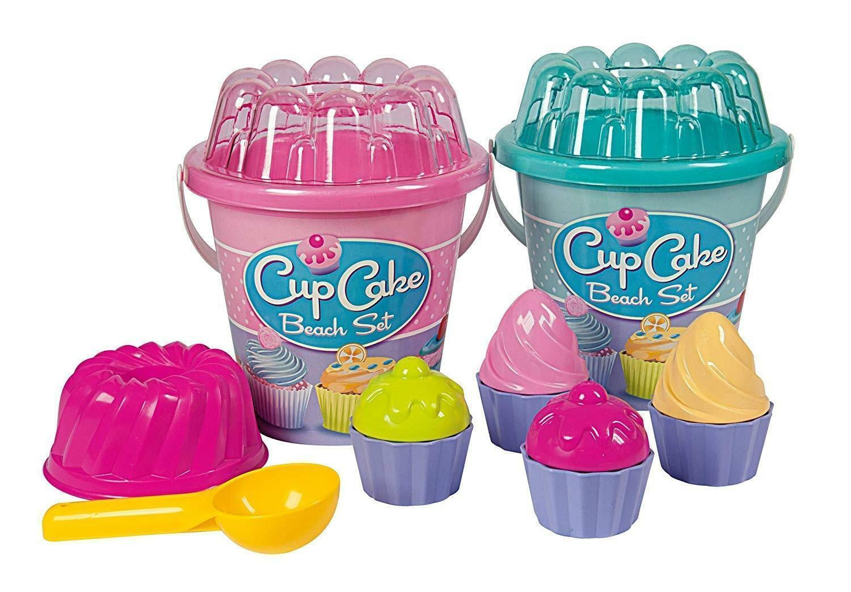 androni giocattoli androni giocattoli cup cake beach set
