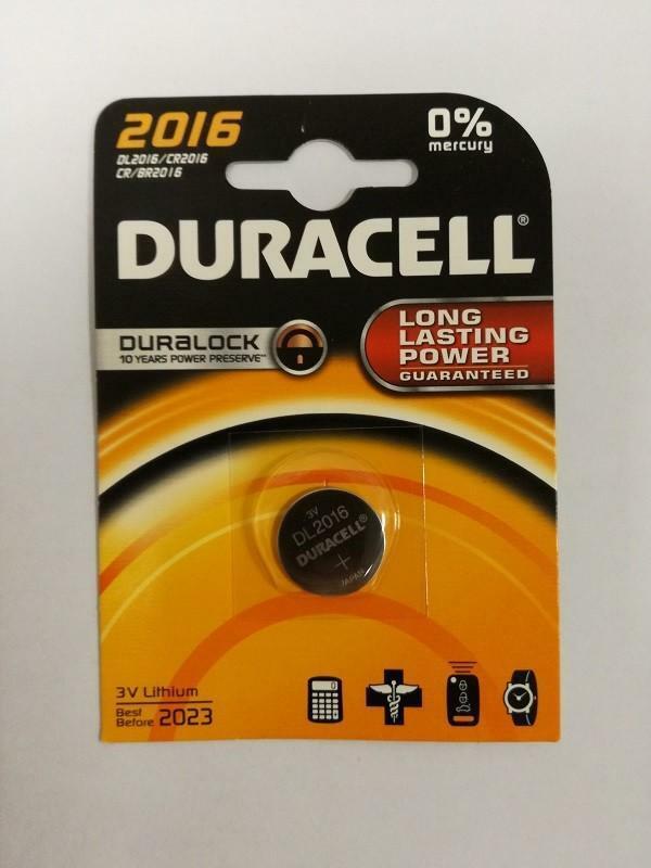 duracell duracell dl 2016 lithium 3 v
