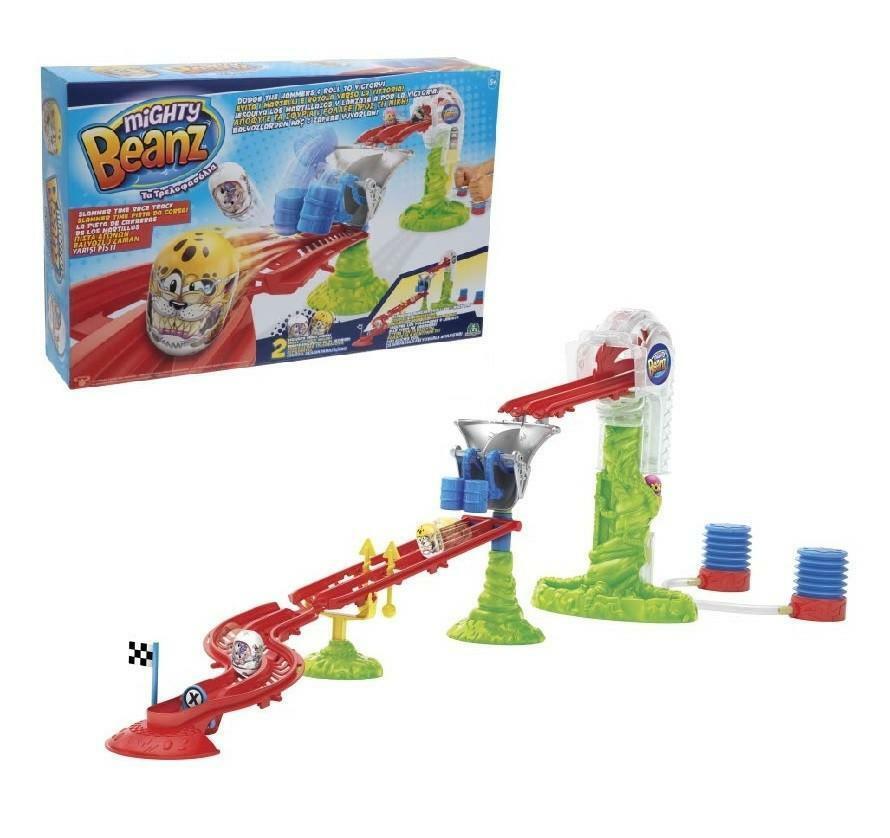 giochi preziosi mighty beanz pista da corsa slammer time