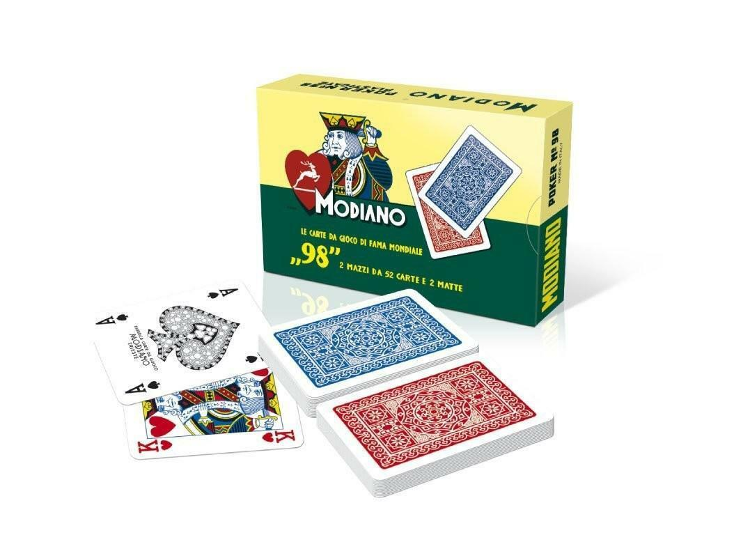 modiano modiano carte da gioco poker n 98