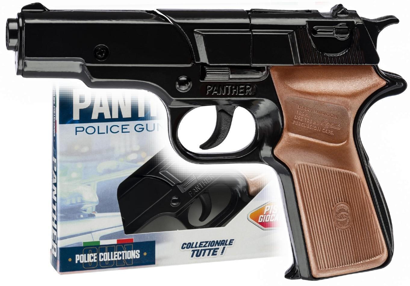 villa giocattoli villa giocattoli pistola police panther 8 colpi 125db