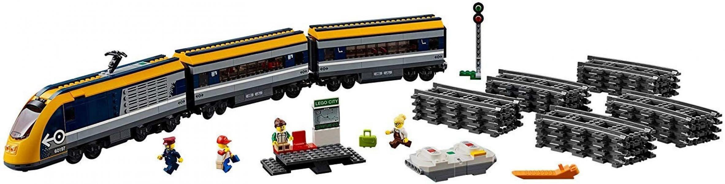 lego lego city 60197 - treno passeggeri