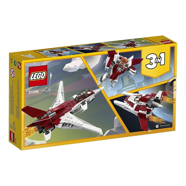 lego lego creator 31086 - aereo futuristico