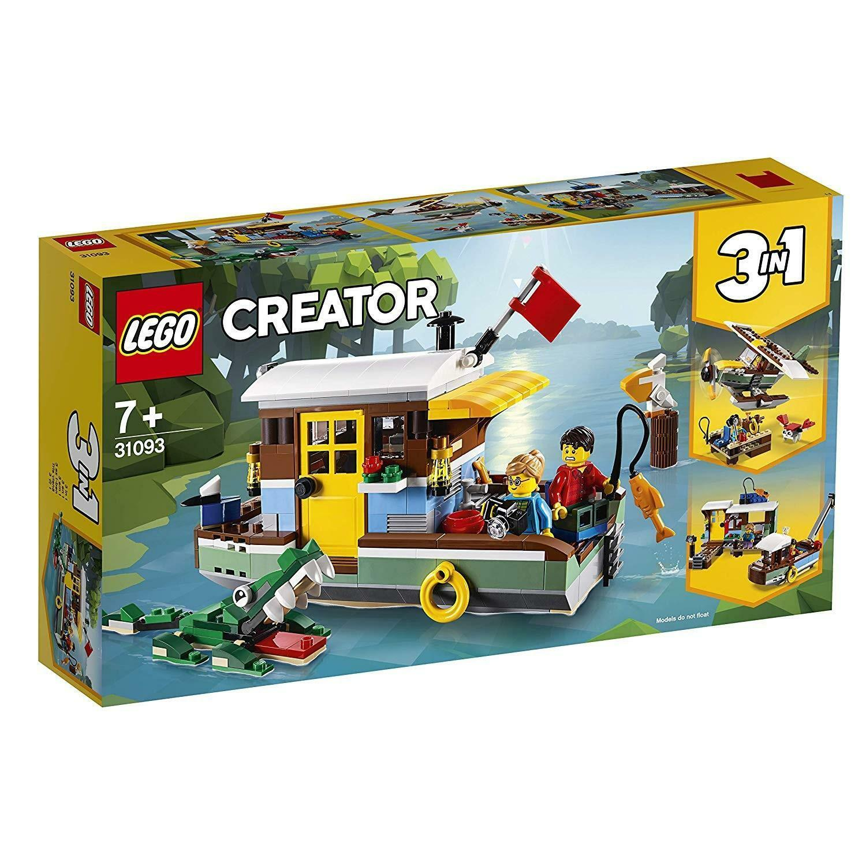 lego lego creator 31093 - casa galleggiante