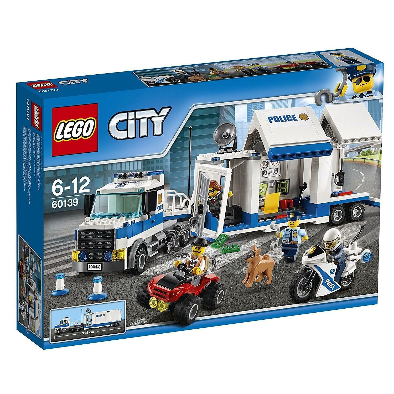 lego lego city 60139 - centro di comando mobile