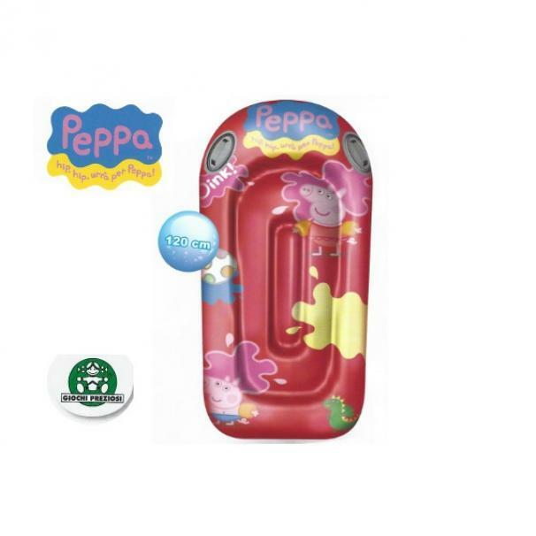 giochi preziosi materassino gonfiabile peppa pig
