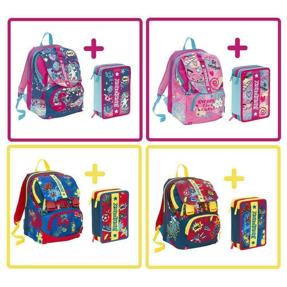 seven seven schoolpack jackpack boy & girl