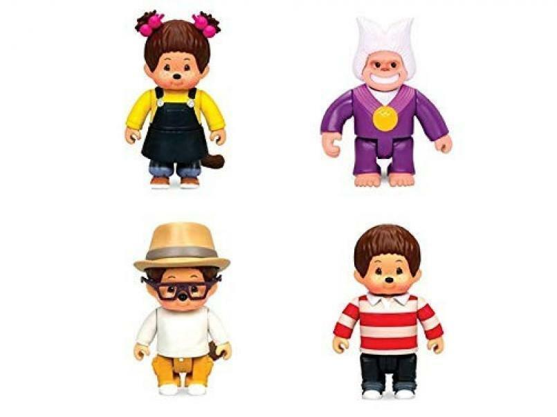 giocattoli monchhichi - personaggio 8 cm