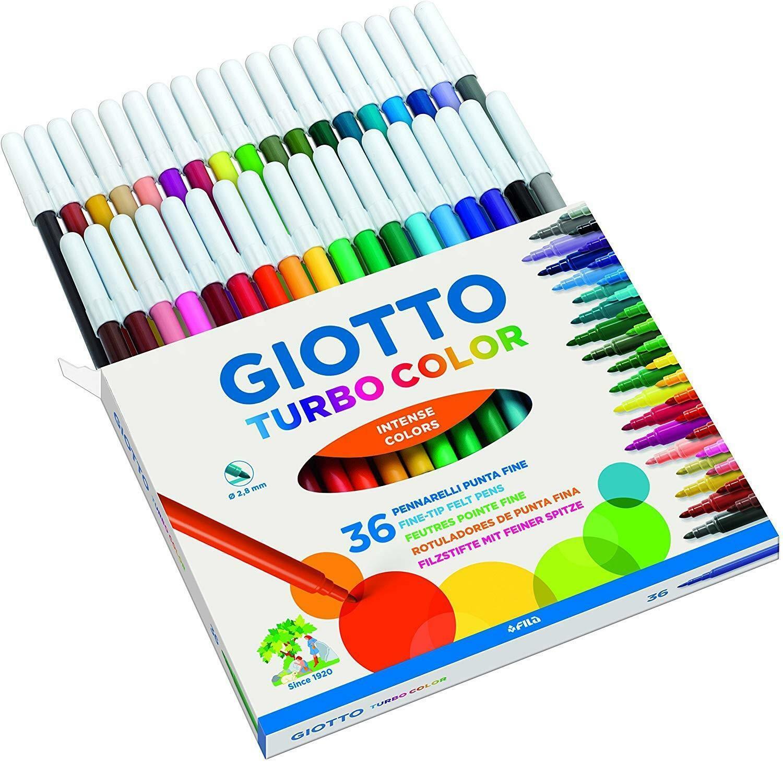 giotto giotto pennarelli turbocolor c.f. 36