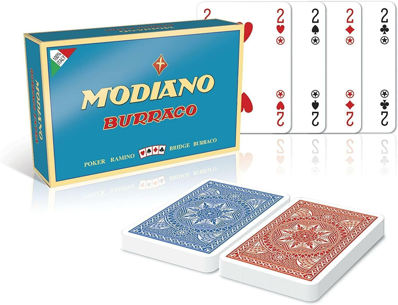 modiano modiano carte burraco - poker- ramino - bridge
