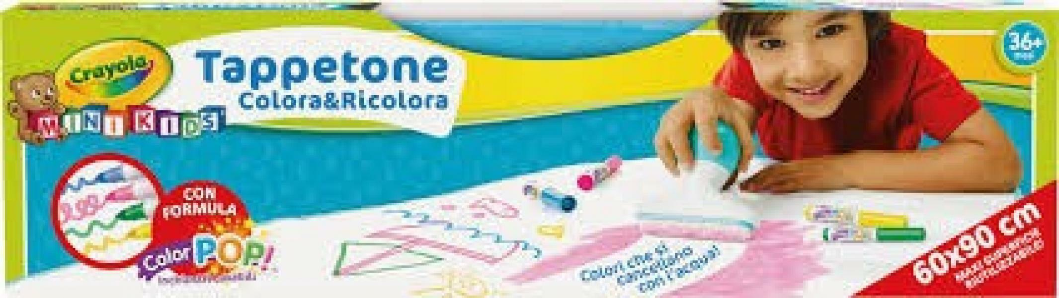 crayola tappetone colora e ricolora