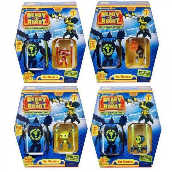 giochi preziosi ready 2 robot - bot blasters - serie 1