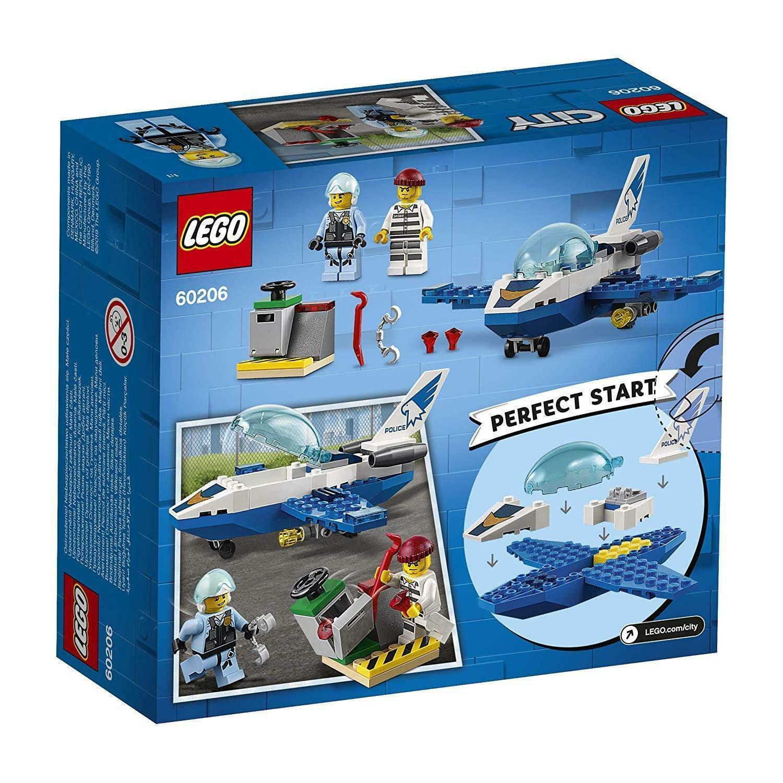 lego lego city 60206 - pattugliamento della polizia aerea