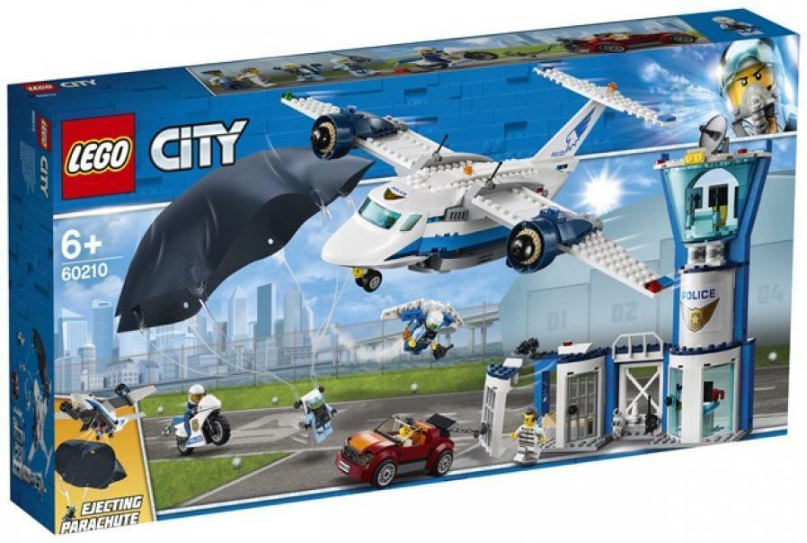lego lego city 60210 - base della polizia aerea