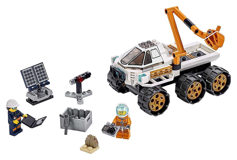 lego lego city 60225 - prova di guida del rover