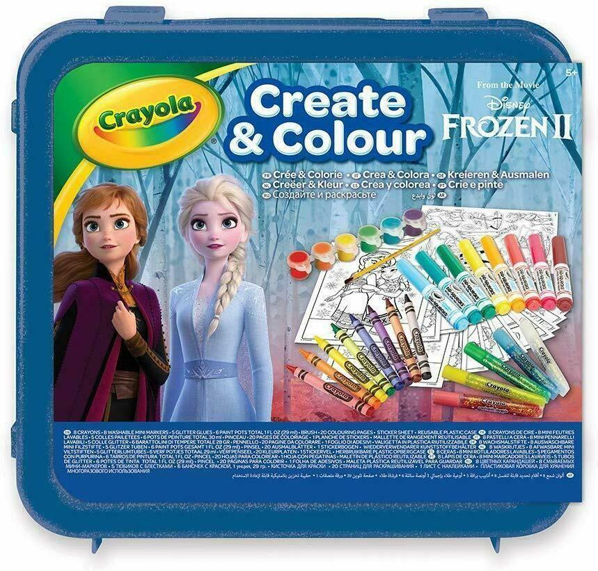 crayola crayola frozen 2 - valigetta crea & colora