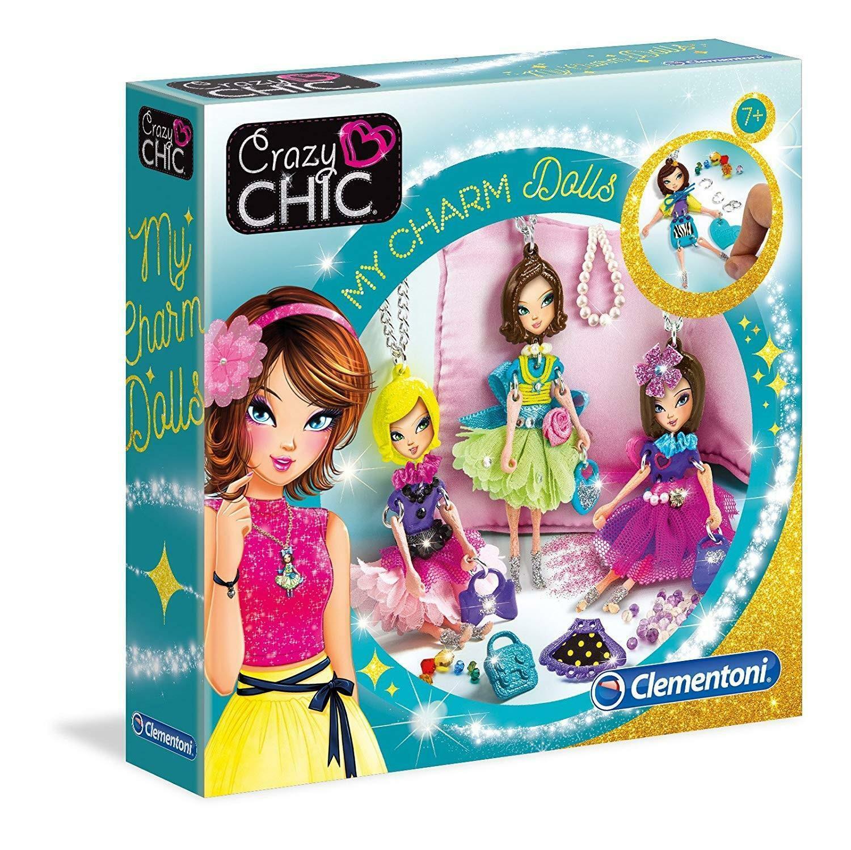 clementoni crazy chic - my charm dolls 15222