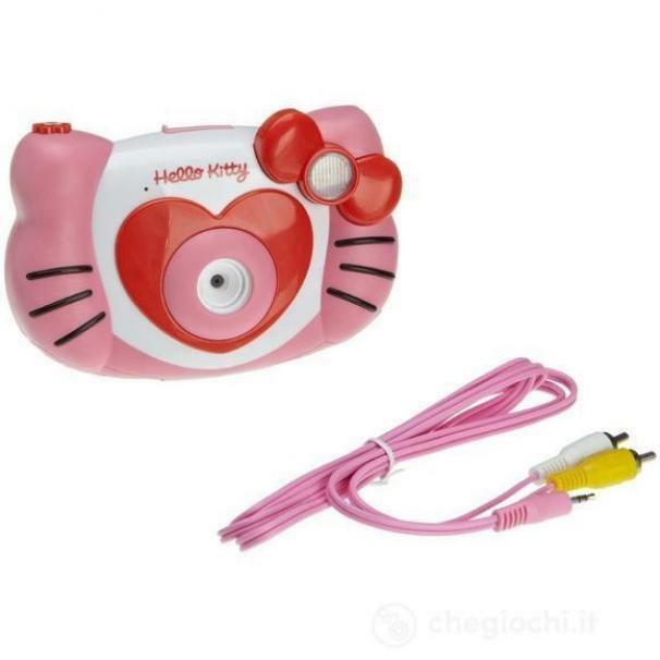 clementoni hello kitty macchina fotografica digitale
