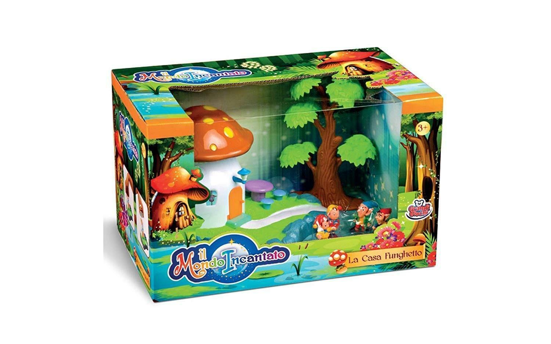 grandi giochi grandi giochi playset casa fungo degli elfi