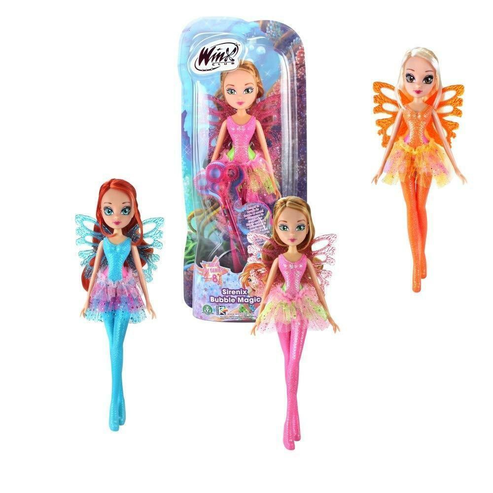 rocco giocattoli rocco giocattoli bambola winx sirenix bubble magic