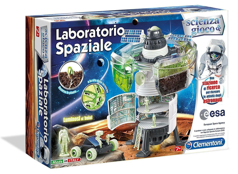 clementoni scienza & gioco - laboratorio spaziale 13917