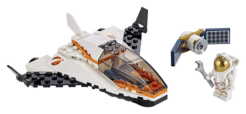 lego lego city 60224 - missione di riparazione satellitare