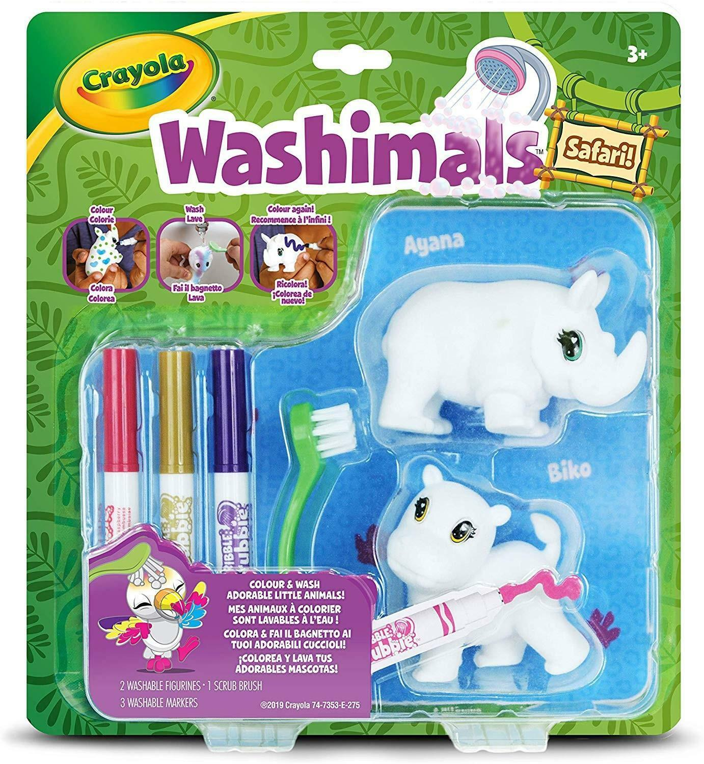 crayola washimals safari - ayana/biko