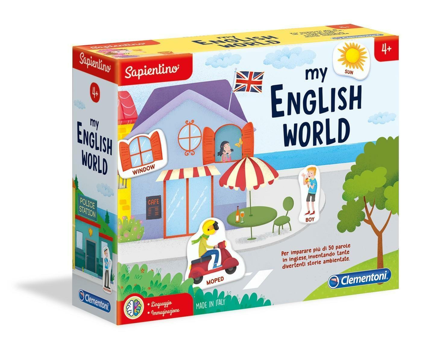 clementoni sapientino my english world 16139