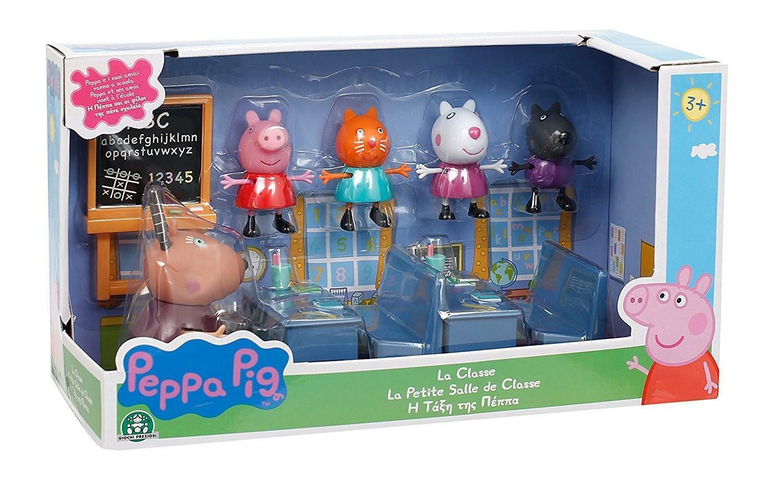 giochi preziosi peppa pig la classe con 5 personaggi
