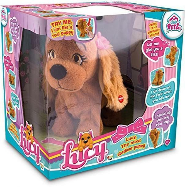 imc toys club petz - lucy cagnolina