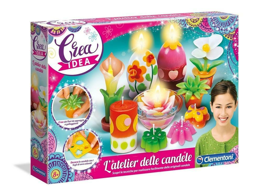 clementoni crea idea - atelier delle candele 15253
