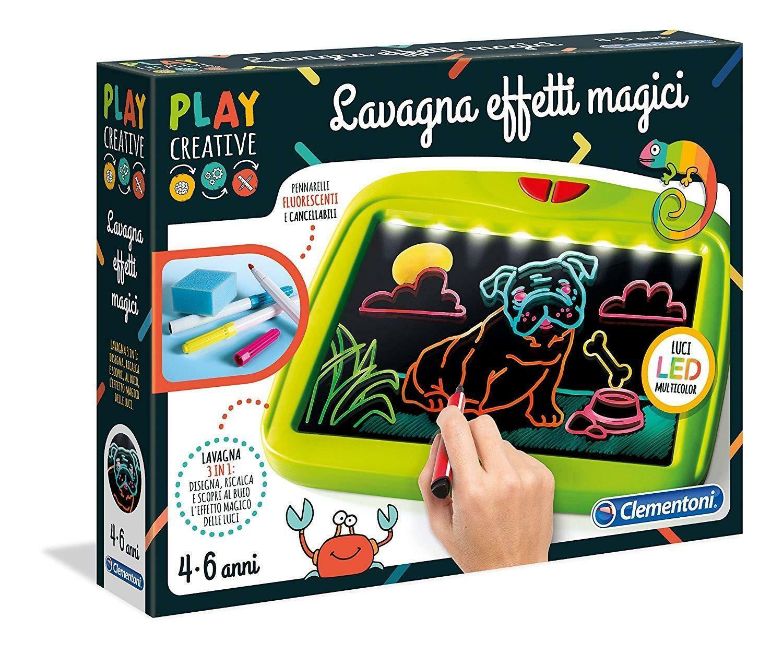 clementoni play creative - lavagna effetti magici 15265