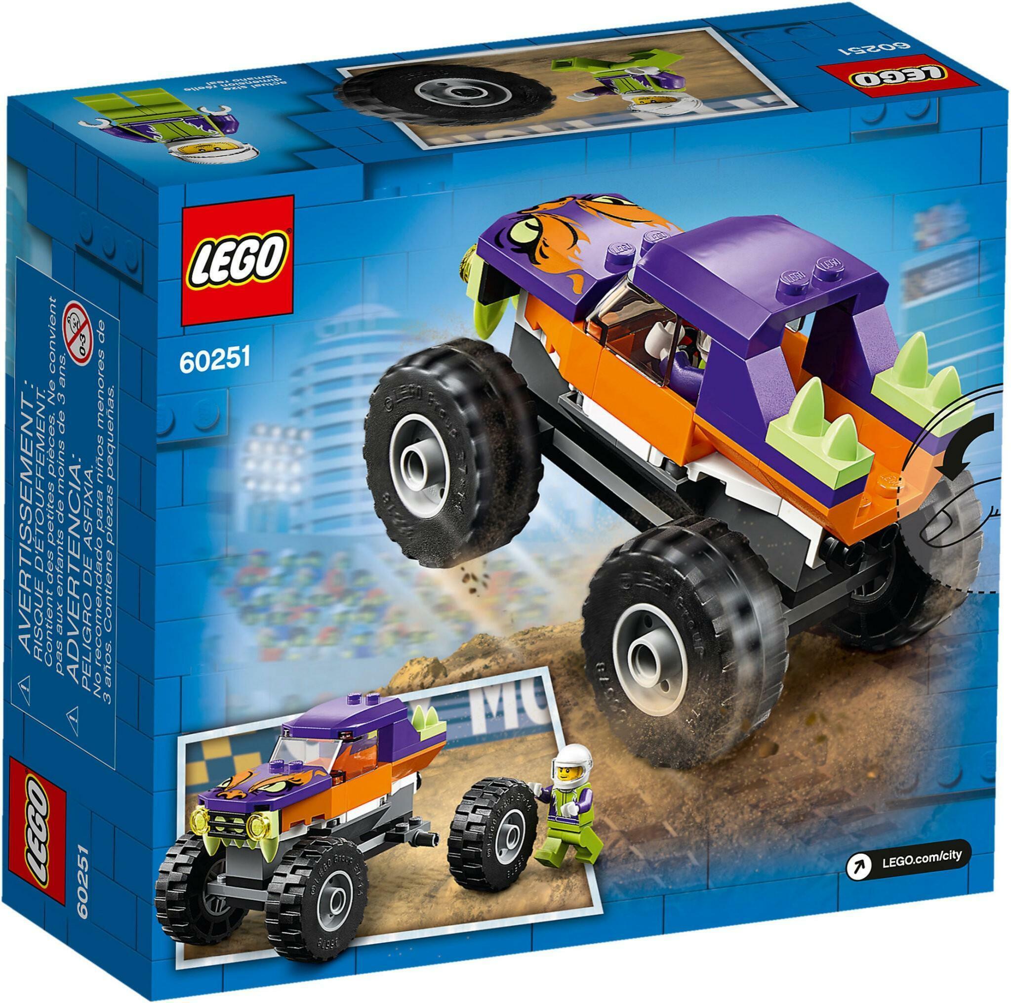 lego lego city 60251 - monster truck