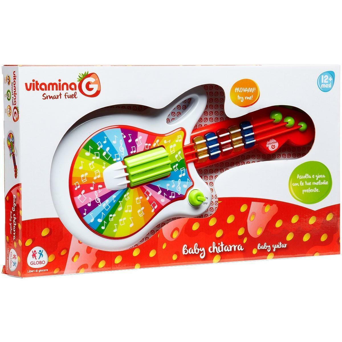 globo globo vitamina g - baby chitarra luci e suoni