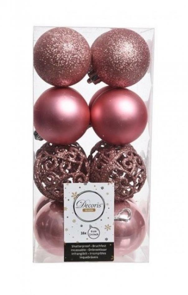 kaemingk kaemingk 16 palle r 6 cm - colore rosa