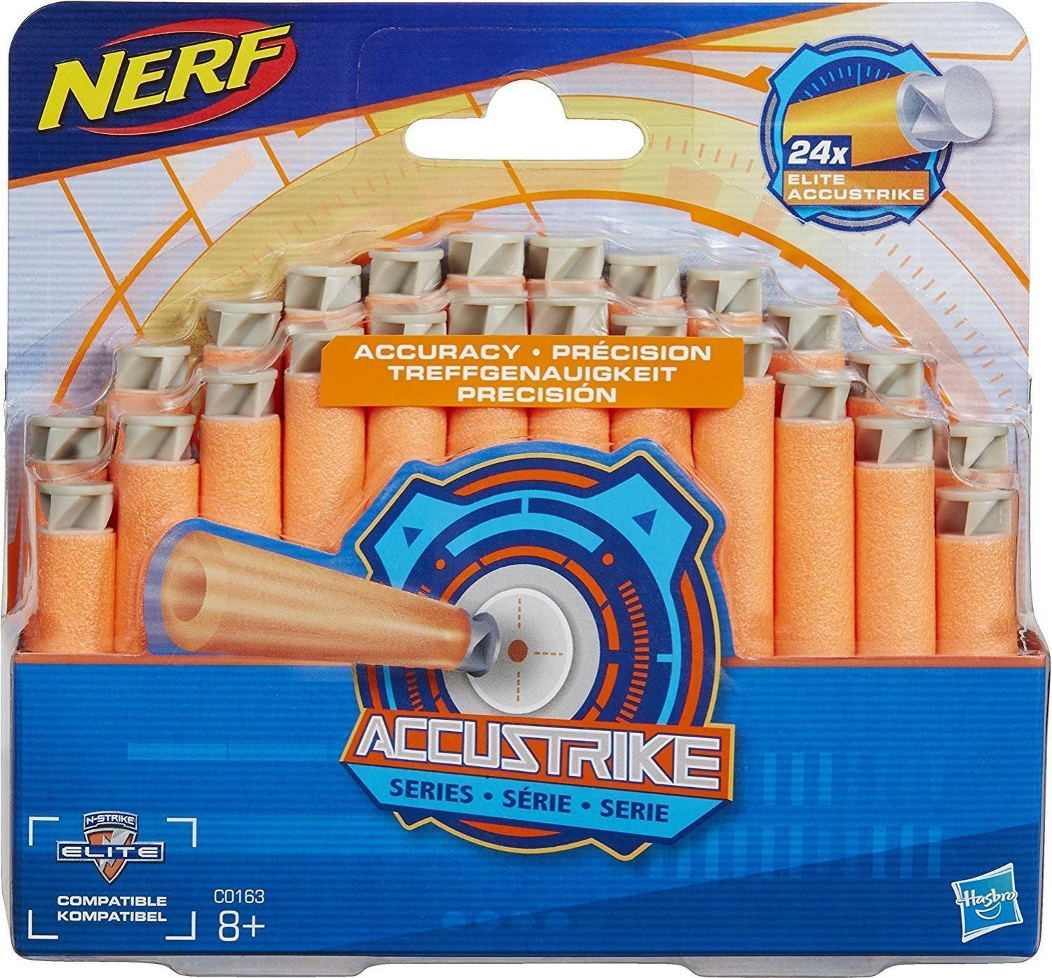 hasbro nerf n-strike elite - 24 dardi accustrike