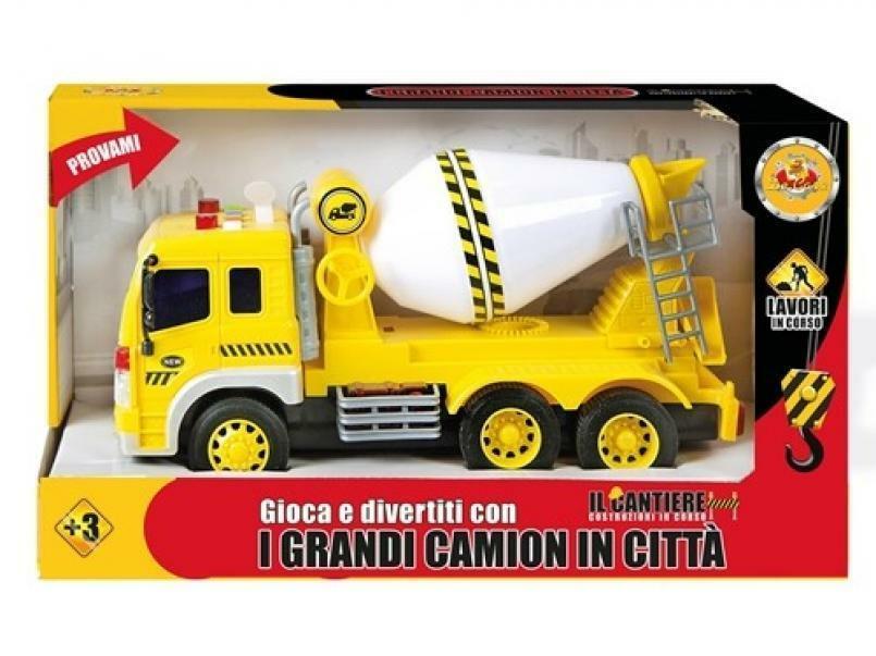 decar2 decar2 veicolo camion betoniera cm 18x32 - funzioni luci e suoni