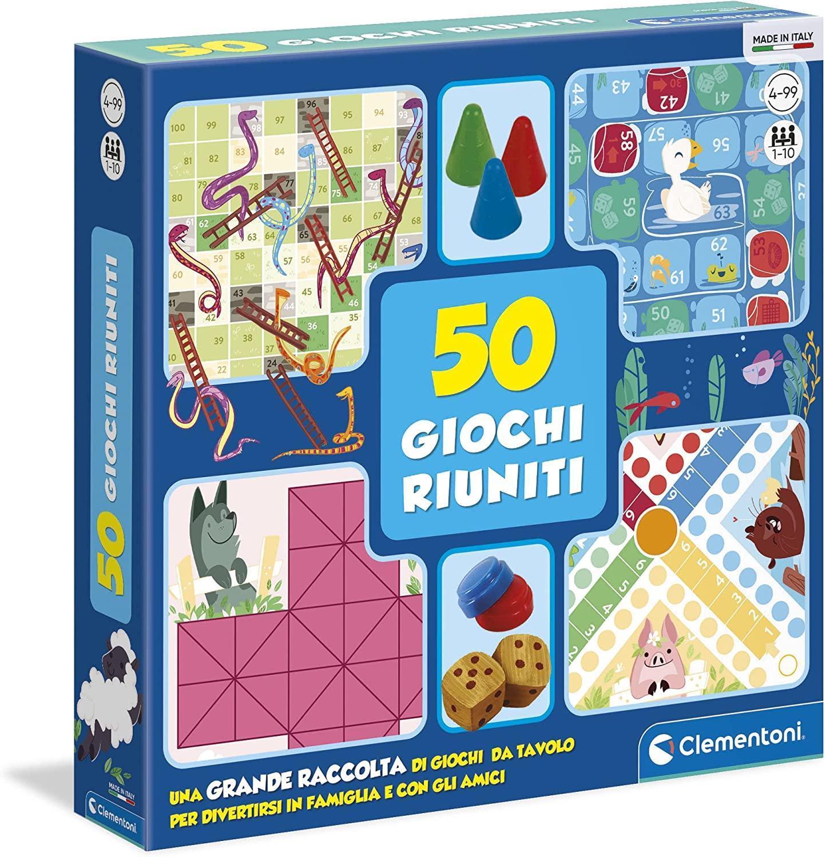 clementoni 50 giochi riuniti 12941