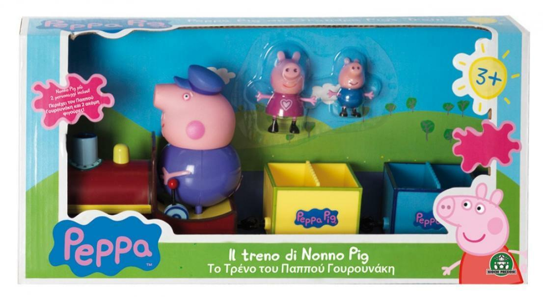giochi preziosi peppa pig il treno di nonno pig