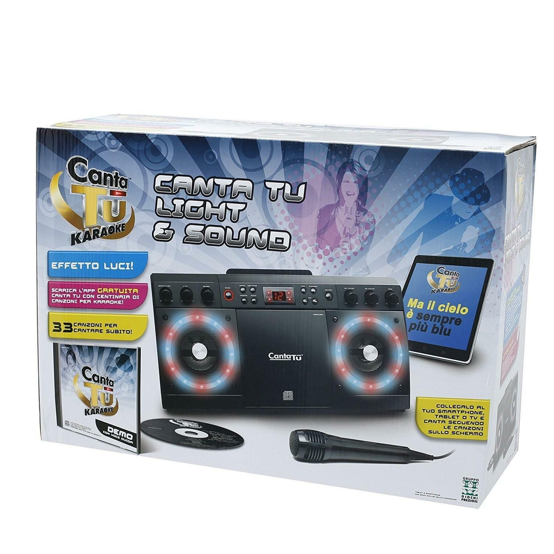 giochi preziosi canta tu light & sound karaoke