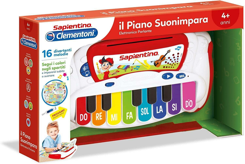 clementoni sapientino - piano suonimpara 12046