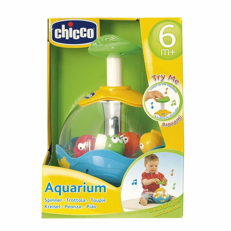 chicco aquarium trottola elettronica