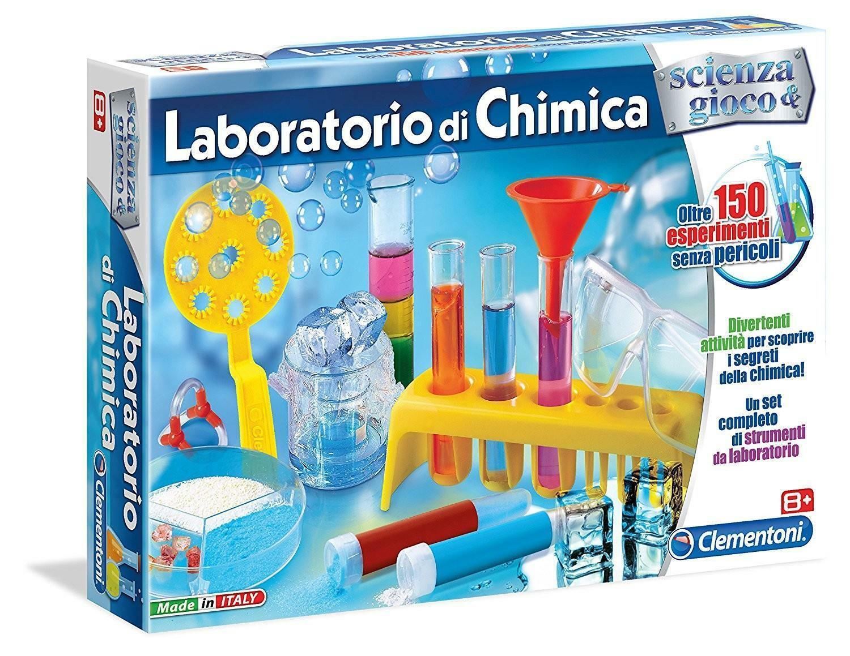 clementoni scienza & gioco - laboratorio di chimica 13908
