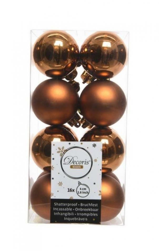 kaemingk kaemingk 16 palle r 4 cm - colore marrone ruggine