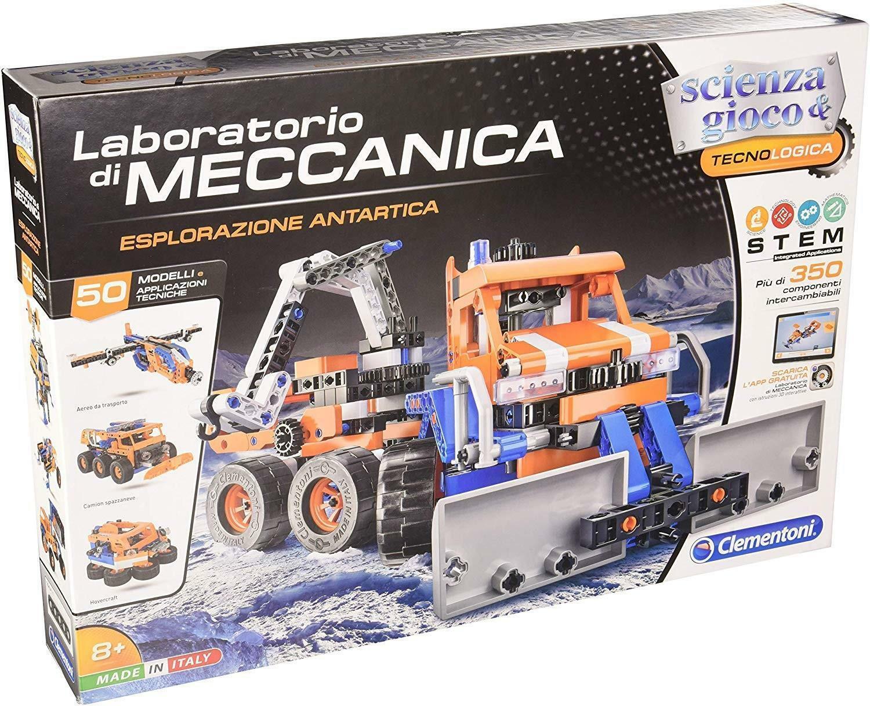 clementoni scienza & gioco 19130 - laboratorio di meccanica - esplorazione antartica