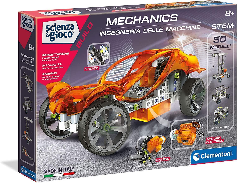 clementoni scienza & gioco - laboratorio di meccanica 13940