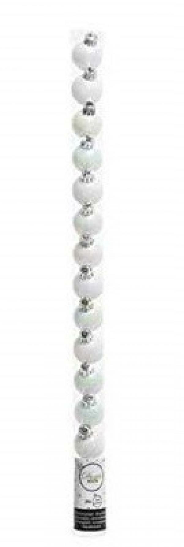 kaemingk kaemingk 15 palle r 3 cm - colore bianco perla