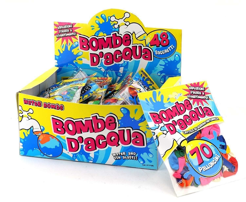 globo globo blister 70 bombe acqua